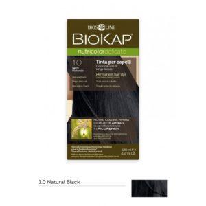 BioKap®, Nutricolor Delicato püsivärv (1.00 naturaalne must)