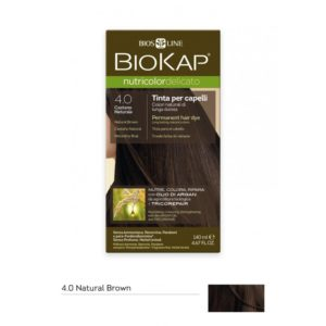 BioKap®, Nutricolor Delicato püsivärv (4.00 naturaalne pruun)