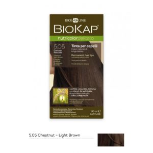 BioKap®, Nutricolor Delicato püsivärv (5.05 hele kastanpruun)