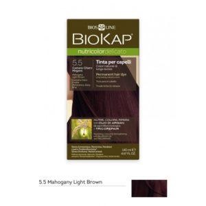 BioKap®, Nutricolor Delicato püsivärv (5.50 hele mahagonpruun)