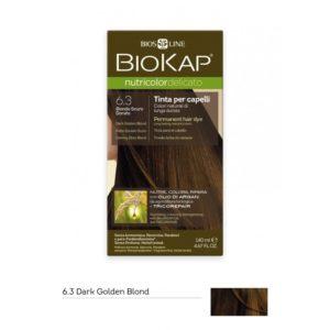 BioKap®, Nutricolor Delicato püsivärv (6.30 tume kuldblond)