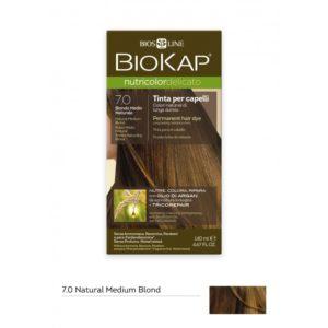 BioKap®, Nutricolor Delicato püsivärv (7.0 naturaalne keskmine blond)