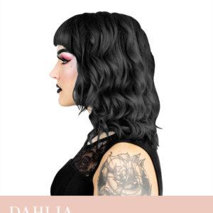 Hermans Professional, juuksevärv Black Dahlia, 115ml
