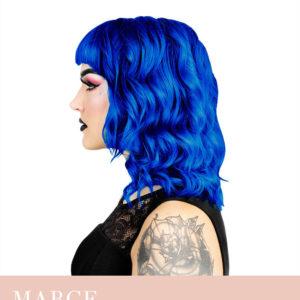 Hermans Professional, juuksevärv Marge Blue, 115ml