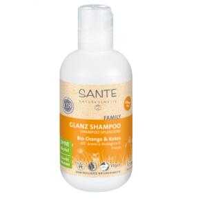 Sante, Apelsini ja kookose läikešampoon, 200 ml