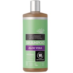 Urtekram, Aloe Vera kõõmavastane šampoon, 500ml