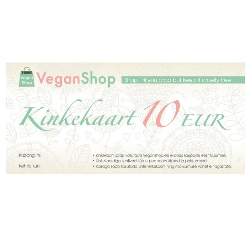 0a6dbb89f1c VeganShop kinkekaart – VeganShop