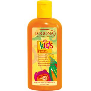 Logona, Laste šampoon ja dušigeel, 200ml
