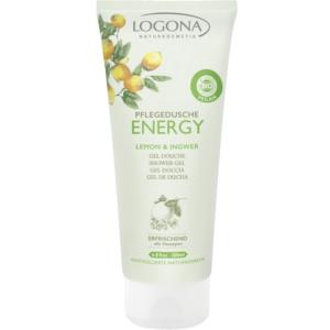 Logona, ENERGY dušigeel sidrun ja ingver, 200 ml