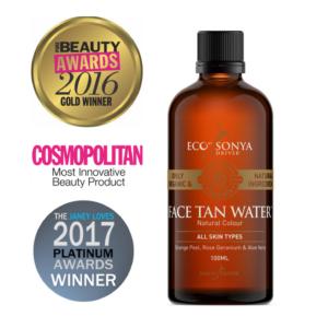 Eco By Sonia, Isepruunistav näovesi Face Tan Water, 100ml