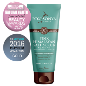Eco By Sonia, Koorimiskreem Pink Himalayan Salt Scrub, 250ml