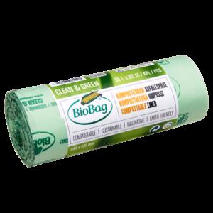 BioBag, Biolagunev ja komposteeritav prügikott 35l, 20tk
