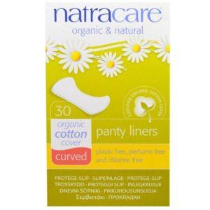 Natracare, Pesukaitsmed Curved, 30tk