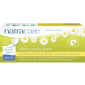 Natracare, Pesukaitsmed Ultra thin, 22tk