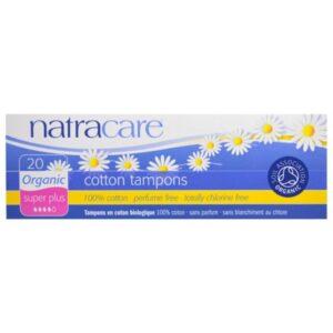 Natracare, Tampoonid Super Plus, 20tk
