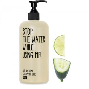 Stop The Water,  All Natural kurgi-laimi vedelseep, 200ml
