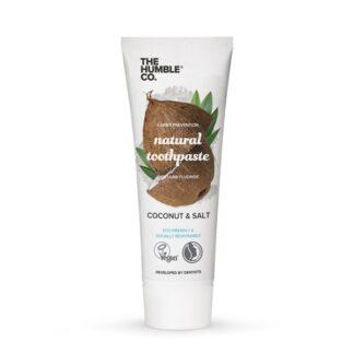 Looduslik hambapasta Coconut & Salt fluoriidiga, 75ml