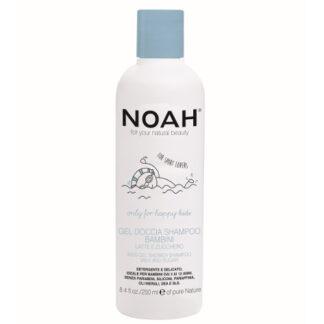 dušigeel-šampoon lastele
